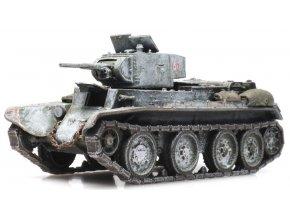 Artitec - BT-7-1, sovětská armáda, zimní kamufláž, 1/87
