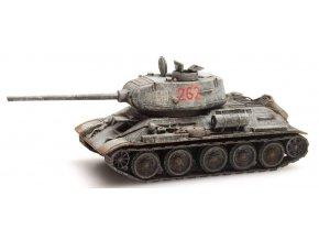 Artitec - T-34-85, sovětská armáda, zimní kamufláž, 1/87
