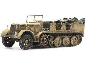 sdkfz 7 zugkraftwagen 8t tarnung