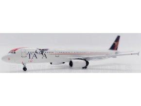 El Aviador Models - Airbus A321, dopravce TACA (75 años) N567TA, Salvádor, 1/400