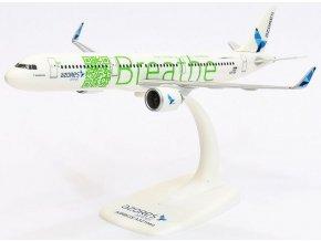 Herpa - Airbus A321neo, společnost SATA Azores Airlines BREATHE CS-TSF, Portugalsko, 1/200