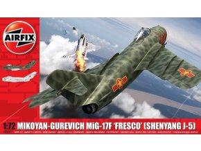 """Airfix - Mikojan-Gurevič MiG-17 """"Fresco"""", Model Kit AX03091, 1/72"""