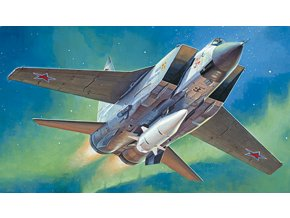 Trumpeter - Mikoyan MiG31B/BM Foxhound with KH47M2, Model Kit 01697, 1/72