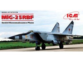 ICM - Mikoyan MiG-25RBF Foxbat, Model Kit 72174, 1/72