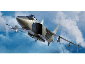 Trumpeter - Mikoyan MiG31M Foxhound, Model Kit 01681, 1/72