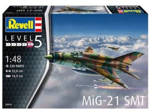 "Revell - Mikojan-Gurevič MiG-21SMT ""Fishbed"", Model Kit 03915, 1/48"