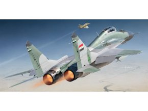 """Wolfpack - Mikoyan MiG29 Fulcrum A (9.12a) 'Gulf War"""", Model Kit WP14804, 1/48"""