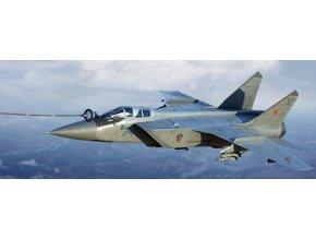 Trumpeter - Mikoyan MiG31B/BM Foxhound, Model Kit 01680, 1/72