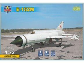 Modelsvit - Ye-152M Soviet heavy interceptor prototype (Heavy MiG's Family), Model Kit 72030, 1/72