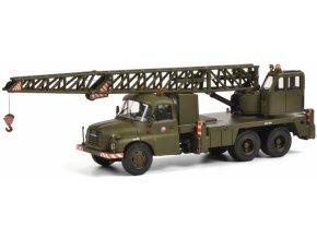 Schuco - Tatra T148, autojeřáb, ČSLA, 1/43