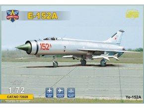 Modelsvit - Ye-152A Soviet twin-engined interceptor prototype (Heavy MiG's Family), Model Kit 72028, 1/72