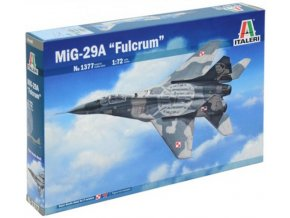 Italeri - Mikojan-Gurevič MiG-29 'Fulcrum' Special edition, Model Kit 341377, 1/72