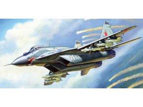 """Zvezda - Mikojan-Gurevič MiG-29 (9-13) """"Fulcrum C"""", Model Kit 7278, 1/72"""