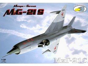 "RV Aircraft - Mikojan-Gurevič MiG-21S ""Fishbed"", Model Kit C72046, 1/72"
