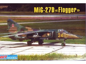 "Art Model Hobby kits -  Mikojan-Gurevič MiG-27D ""Flogger-D/J"", Model Kit AM7216, 1/72"