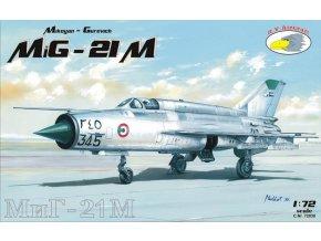 "RV Aircraft - Mikojan-Gurevič MiG-21M ""Fishbed"", Model Kit C72038, 1/72"