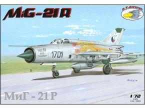 "RV Aircraft - Mikojan-Gurevič MiG-21R ""Fishbed"", Model Kit C72032, 1/72"