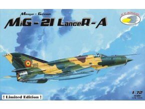 "RV Aircraft - Mikojan-Gurevič MiG-21MF ""Fishbed"" Lancer A (Romanian AF), Model Kit C72036, 1/72"