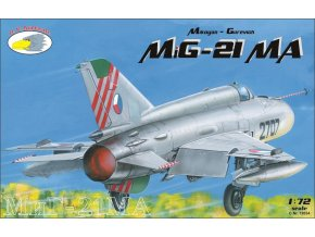 "RV Aircraft - Mikojan-Gurevič MiG-21MA ""Fishbed"", Model Kit C72034, 1/72"
