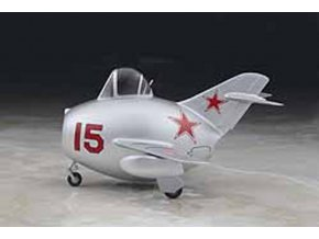 Hasegawa -  Mikojan-Gurevič MiG-15 Eggplane, Model Kit 60132