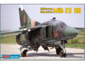 "Art Model Hobby kits - Mikojan-Gurevič MiG-23UB ""Flogger C"", Model Kit AM7210, 1/72"