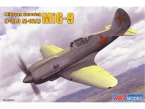 "Art Model Hobby kits - Mikojan-Gurevič MiG-9 ""Fargo"" I-270, Model Kit AM7207, 1/72"