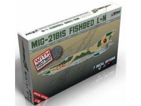 """Lift Here Decals -  Mikojan-Gurevič MiG-21Bis """"Fishbed L-N"""", Model Kit LHM010, 1/72"""