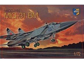 "Condor Ukraine - Mikojan-Gurevič MiG-31BM ""Foxhound"", Model Kit 72011, 1/72"