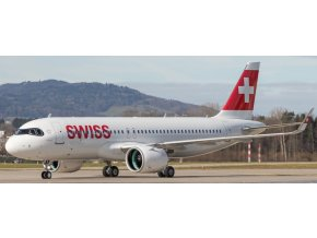 "Herpa - Airbus A320-271N, společnost Swiss ""2010s"", Named ""Engelberg"", Švýcarsko, 1/500"