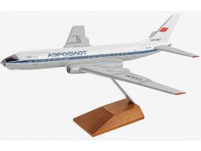 100Aero - Tupolev Tu-104, dopravce Aeroflot Soviet Airlines, 1970's livery, Rusko, 1/100