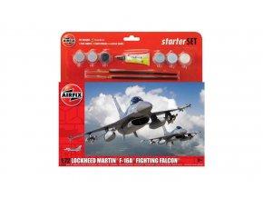 Airfix - General Dynamics F-16A/B Fighting Falcon, Model Kit A55312, 1:72