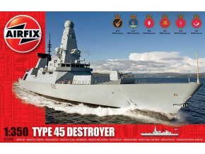 Airfix - Type 45 Destroyer, Model Kit A12203, 1/350