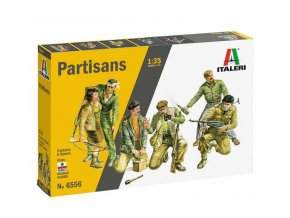 Italery - Set 6 figurek - Partizáni, Model Kit 6556, 1/35