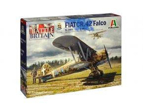 Italery - FIAT CR.42 Falco, Model Kit 2801, 1/48