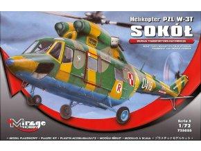 Mirage Hobby - PZL W-3T Sokol, Model Kit 725055, 1/72