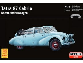 Attack Hobby Kits - Tatra 87 Kabriolet, Model Kit 72912, 1/72