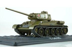 Russian Tanks - T-34/85, sovětská armáda, 1/43