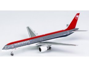 """NG Model - Boeing 757-200, dopravce Northwest Airlines, """"bowling shoe"""" livery, USA, 1/400"""