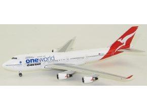 Phoenix - Boeing 747-400, dopravce Qantas One world VH-OEF, Austrálie, 1/400