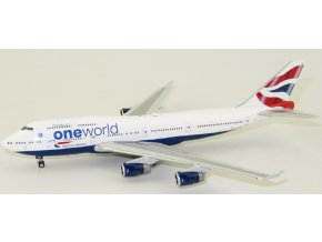 Phoenix - Boeing 747-400, dopravce British Airways One world G-CIVZ, VB, 1/400