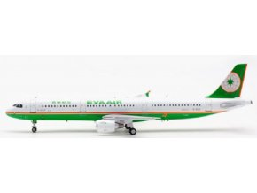 Albatros Models - Airbus A321-211, dopravce EVA Air B-16201, Thaiwan, 1/200