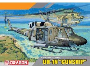 "Dragon - UH-1N ""GUNSHIP"", Model Kit 3540, 1/35"