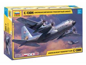 Zvezda - C-130 H Hercules, Model Kit 7321, 1/72