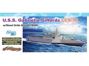 Dragon - U.S.S. Gabrielle Giffords LCS-10 w/NSM, Model Kit 7147, 1/700