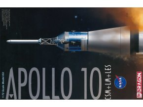 Dragon - Apollo 10 CSM + LM + LES, Model Kit 11003, 1/72