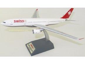 J Fox Models - Airbus A330-223, dopravce Swiss International Air Lines HB-IQG, Švýcarsko, 1/200