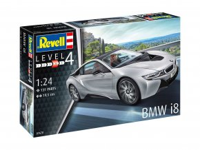 Revell - BMW i8, Model kit 67670, 1/24