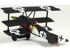 Wings of the Great War - Fokker Dr.I Triplane, Luftstreitkrafte Jasta 7, Josef Jacobs, 1918, 1/72