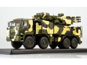 Start Scale Models - Pantsir-S1 / SA-22 Greyhound missel system on KAMAZ-6560 (pouštní kamufláž), 1/43