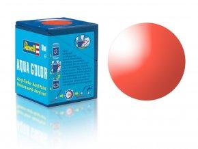 Revell - Barva akrylová 18 ml - transparentní červená (red clear), 36731